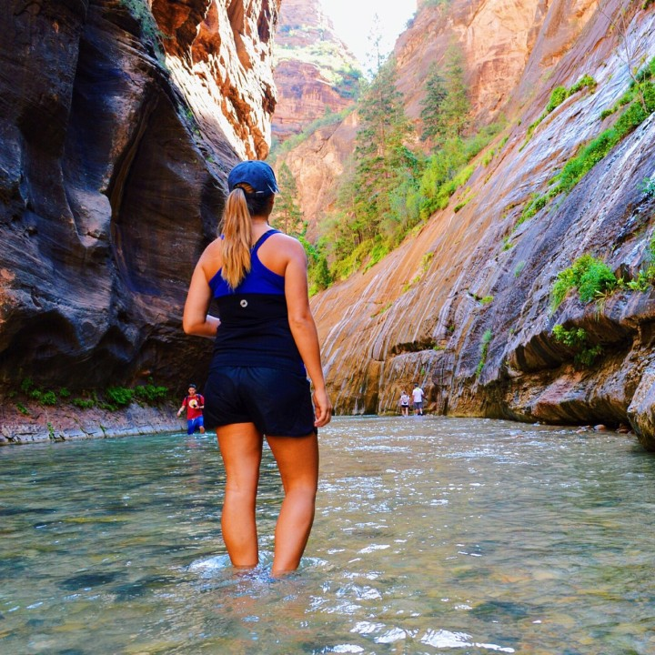 The Narrows of Zion