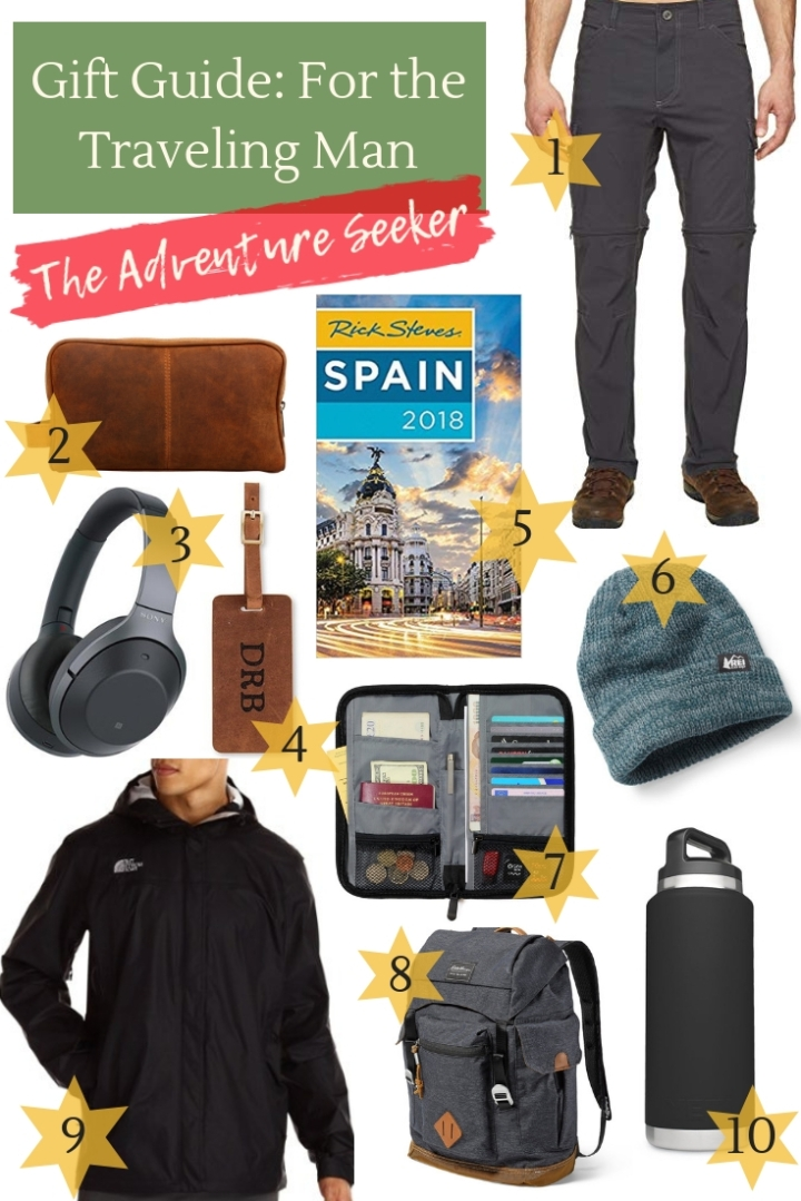 Gift Guide for the Traveling Man